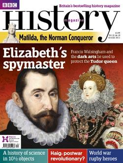 BBC History Magazine October cover